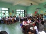 Giao ban CBQL tại trường TH Đỗ Trọng Hường