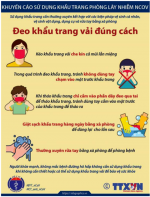 Hướng dẫn của Bộ Y tế về việc tăng cường công tác phòng chống dịch bệnh nCoV trong trường học