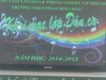 Khai mạc lớp dạy hát dân ca tại trường THCS Phan Bội Châu