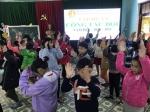 Sinh hoạt tập huấn công tác Đội  trường Tiểu học Sơn Phong  Năm học 2020-2021