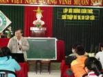 Tập huấn kỹ năng sơ cấp cứu tại trường THCS Nguyễn Duy Hiệu