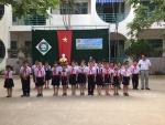 Tiểu học Lương Thế Vinh tổ chức lễ kết nạp đội viên mới năm học 2017-2018