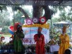 Trường Mẫu giáo Cẩm An tổ chức lễ hội mừng xuân.
