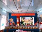 Trường Mẫu giáo Cẩm Thanh  tặng quà cho học sinh có hoàn cảnh khó khăn nhân dịp Tết Tân Sửu năm 2021