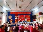 Trường Mẫu giáo Cẩm Thanh Tặng quà Tết cho học sinh có hoàn cảnh khó khăn nhân dịp Tết Tân Sửu năm 2021