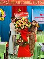 TRƯỜNG MG THANH HÀ TỔ CHỨC HỘI NGHỊ CB-CC-VC  NĂM HỌC 2021-2022