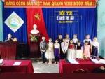 Trường TH Đỗ Trọng Hường tổ chức hội thi kể chuyện theo sách