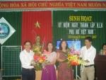 Trường TH Sơn Phong tổ chức kỉ niệm 20/10