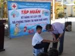 Trường THCS Huỳnh Thị Lựu tổ chức tập huấn sơ cấp cứu và phòng tránh tai nạn đuối nước năm học 2020-2021
