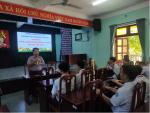Trường THCS Kim Đồng tổ chức chuyên đề phân luồng hướng nghiệp dạy nghề cho học sinh lớp 9.