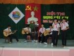 """Trường THCS Kim Đồng tổ chức Hội thi """"Giọng hát hay và tìm kiếm tài năng nghệ thuật"""""""