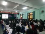 Trường THCS Kim Đồng  tổ chức ngoại khóa Giáo dục sức khỏe sinh sản vị thành niên và phòng tránh xâm hại tình dục trẻ em