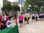Trường Tiểu học Lương Thế Vinh ủng hộ lũ lụt đồng bào các Tỉnh Miền Bắc, Miền Trung.