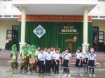 """Trường Tiểu học Sơn Phong tổ chức ngày hội """"Chúng em bảo vệ môi trường"""" Năm học 2020-2021"""